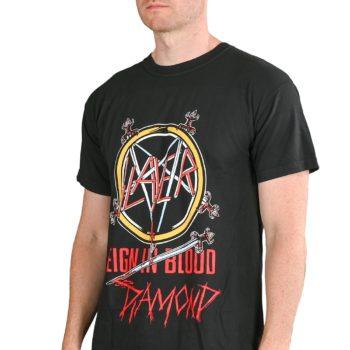 Diamond x Slayer Reign In Blood S/S T-Shirt - Black