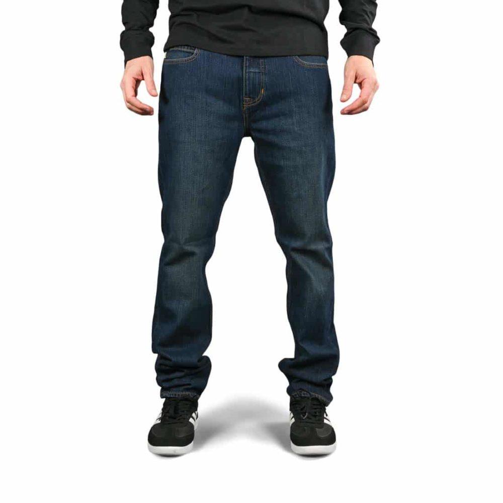 Element E02 Slim Straight Jeans - Dark Used