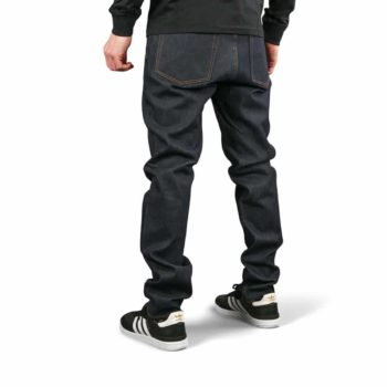 Element E02 Slim Straight Jeans - Rigid Indigo