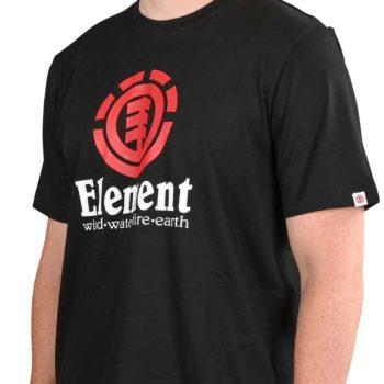 Element Vertical S/S T-Shirt - Flint Black