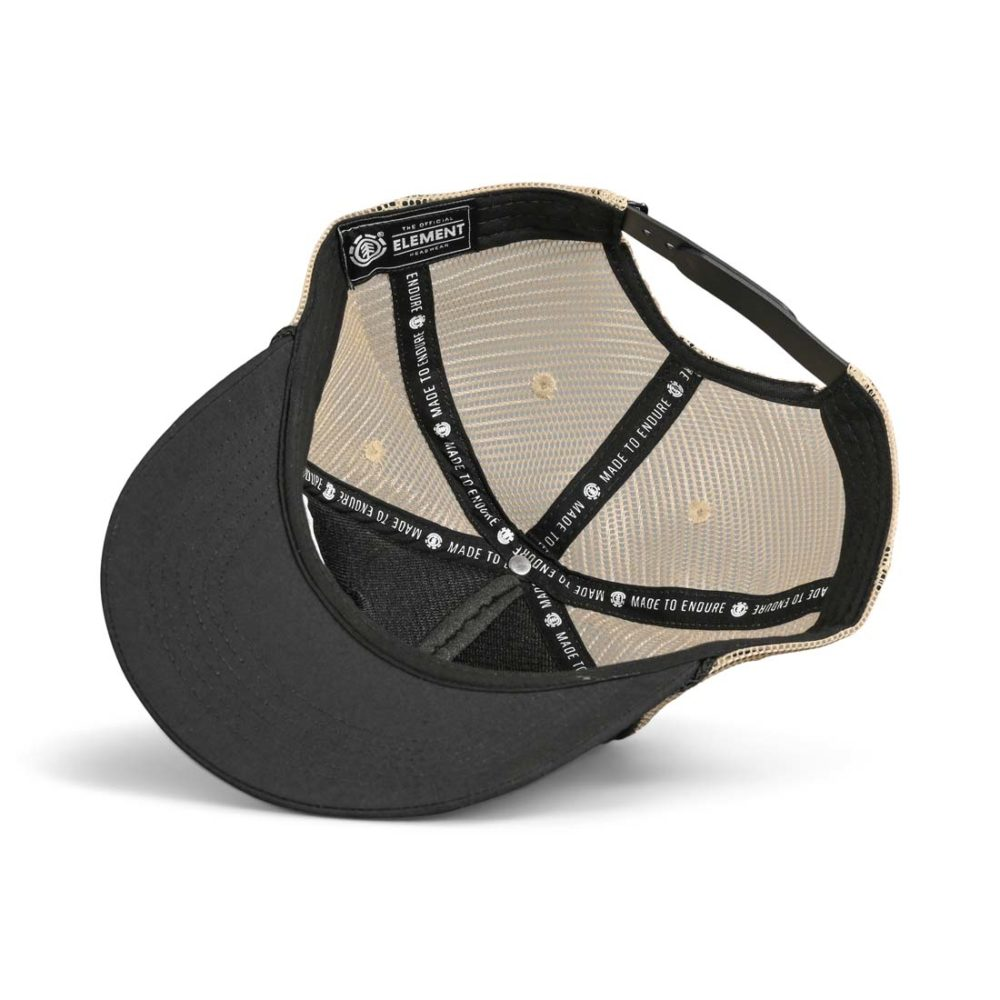Element Wolfeboro Trucker Cap - Flint Black