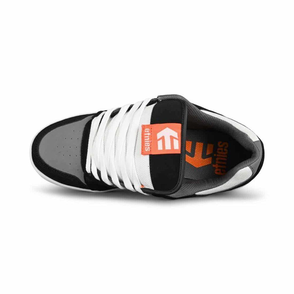 Etnies Rockfield Skate Shoes - Black / White / Orange