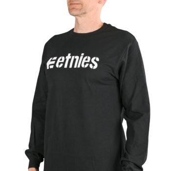 Etnies Corporate 10 L/S T-Shirt - Black