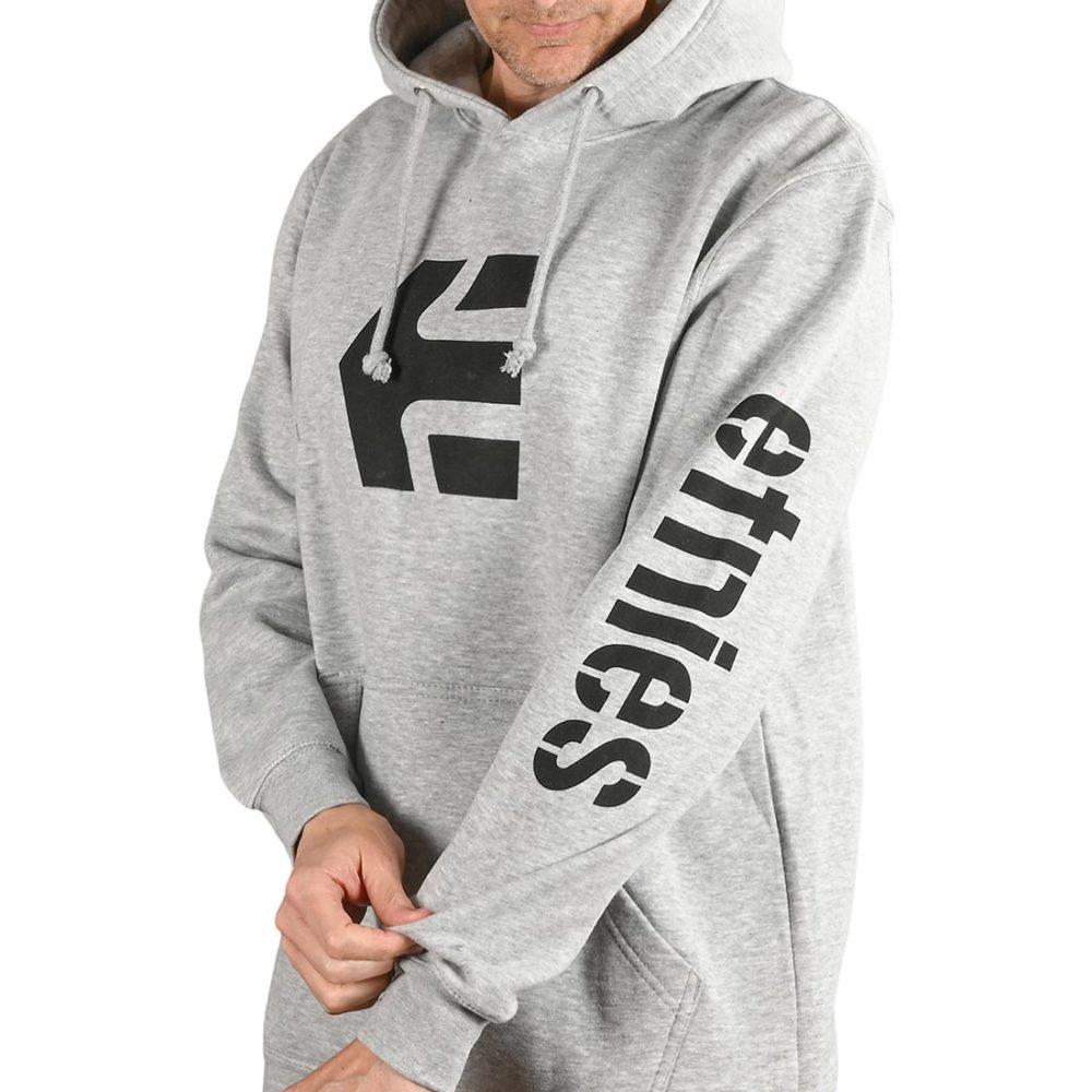 Etnies Icon Pullover Hoodie - Grey / Heather