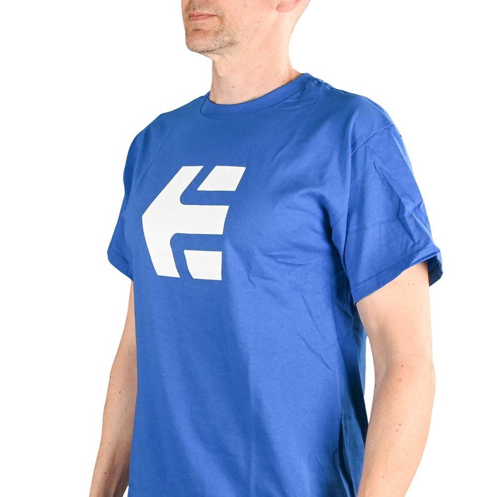 Etnies Icon S/S T-Shirt - Royal