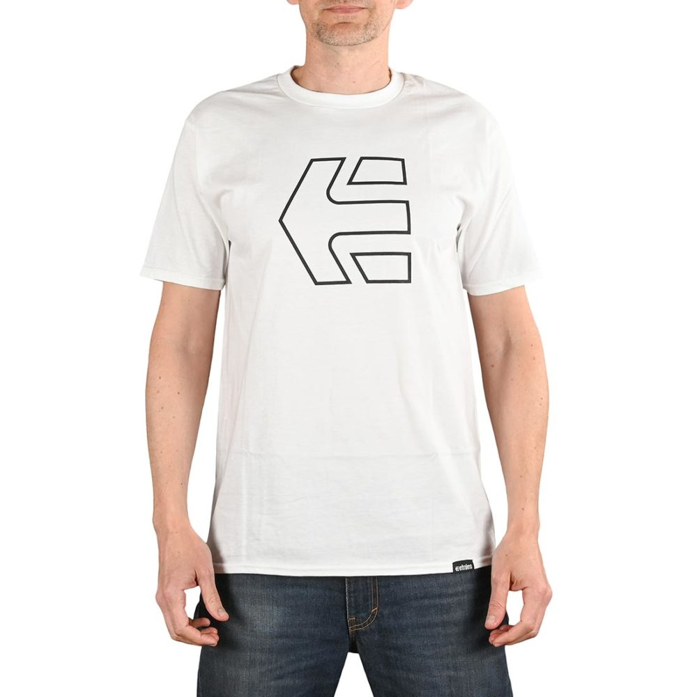 Etnies Icon S/S T-Shirt - White
