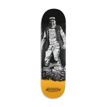Forty Edinburgh's Friendly Giant Skateboard Deck - Mark Burrows