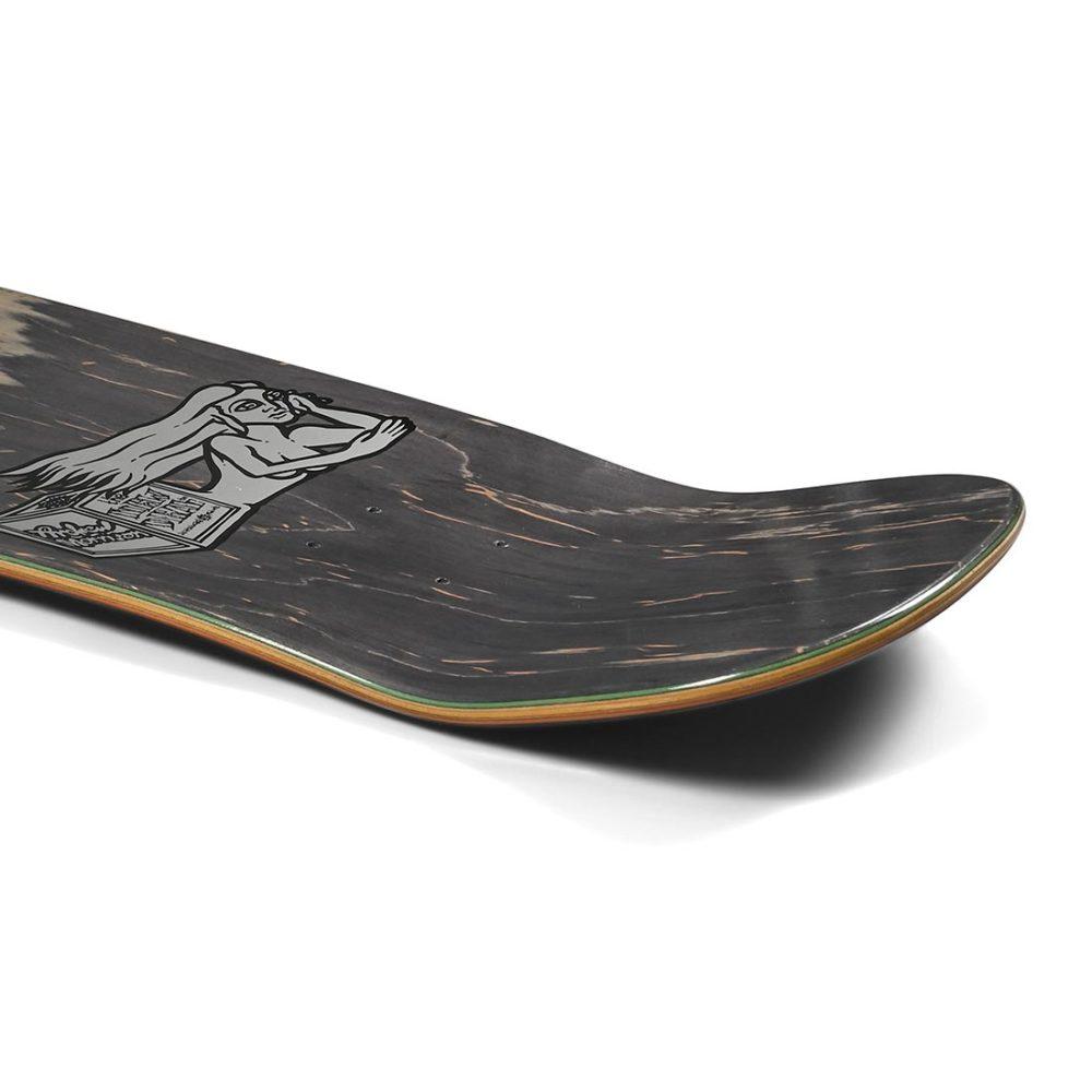 """New Deal Morrison Bird Hand Metallic HT 9.875"""" Reissue Skateboard Deck"""