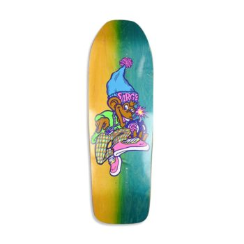 "New Deal Sargent Monkey Bomber Neon HT 9.625"" Reissue Deck"