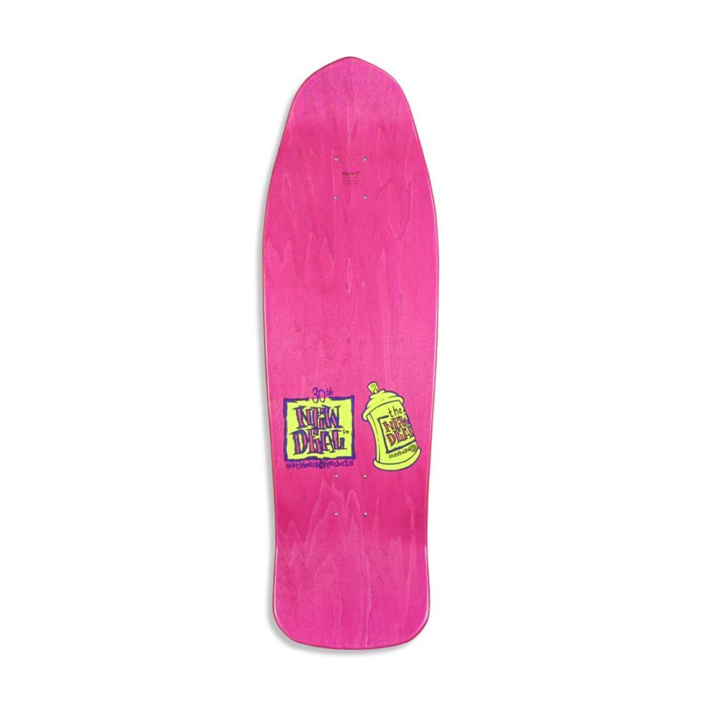 "New Deal Spray Can Neon HT 9.75"" Reissue Skateboard Deck"