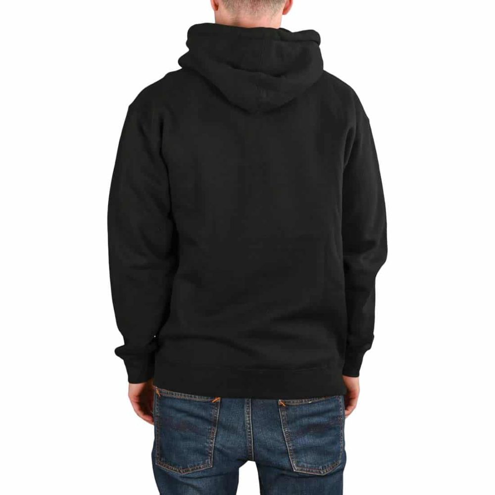 Real Oval Pullover Hoodie - Black / Yellow