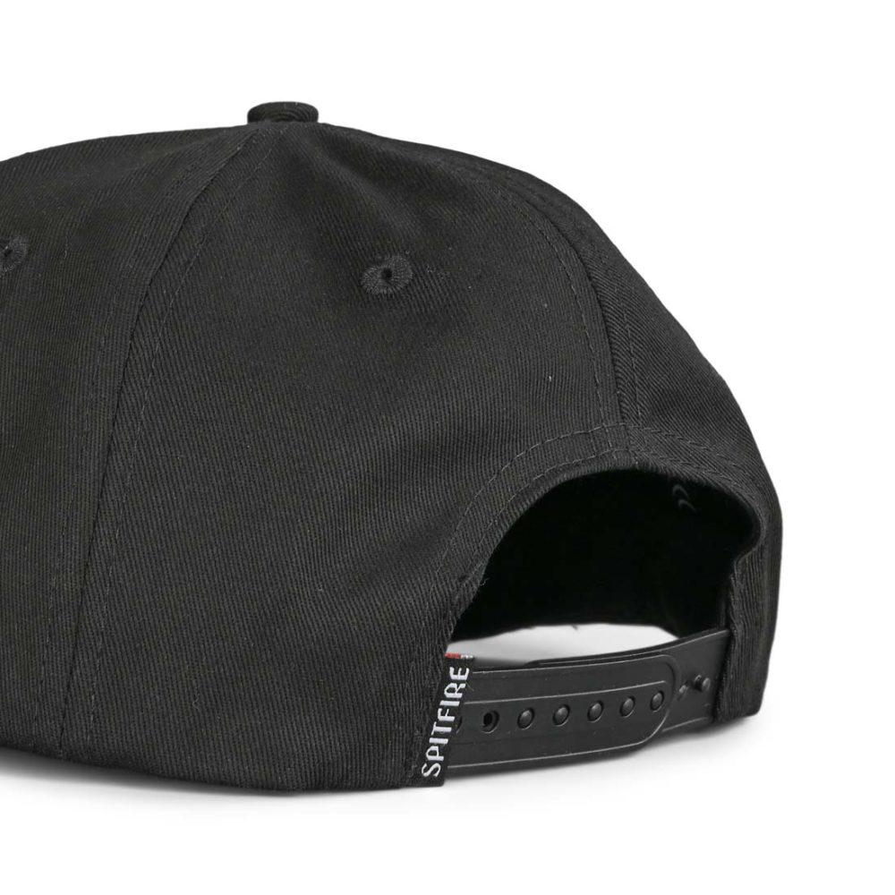 Spitfire Bighead Snapback Cap - Black / Off-White
