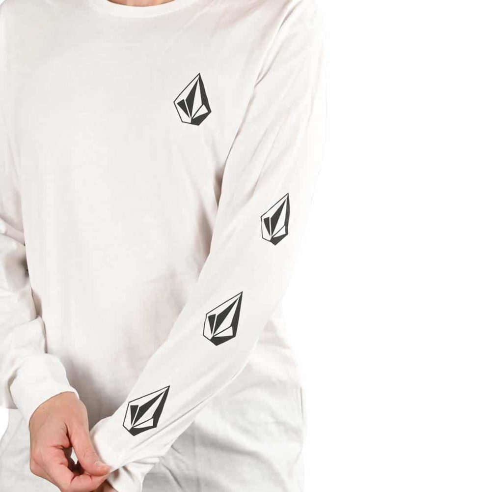 Volcom Deadly Stone BSC L/S T-Shirt - White