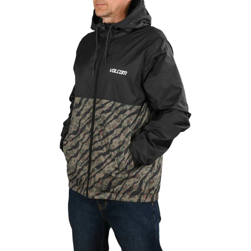 Volcom Ermont Windbreaker Jacket - Camouflage