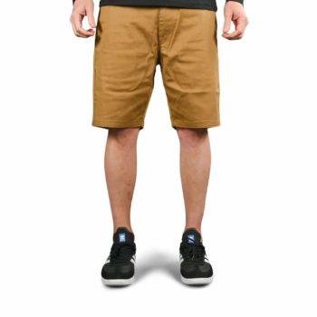 Volcom Frickin Modern Stretch Shorts - Dark Khaki