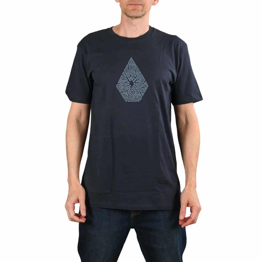 Volcom Shatter BSC S/S T-Shirt - Navy