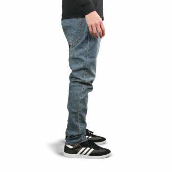 Volcom Solver Tapered Denim Jeans - Slate Blue