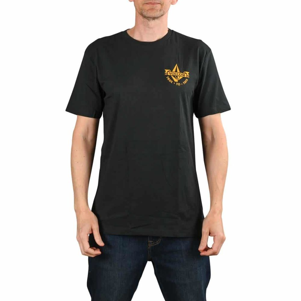 Volcom Stoker BSC S/S T-Shirt - Black