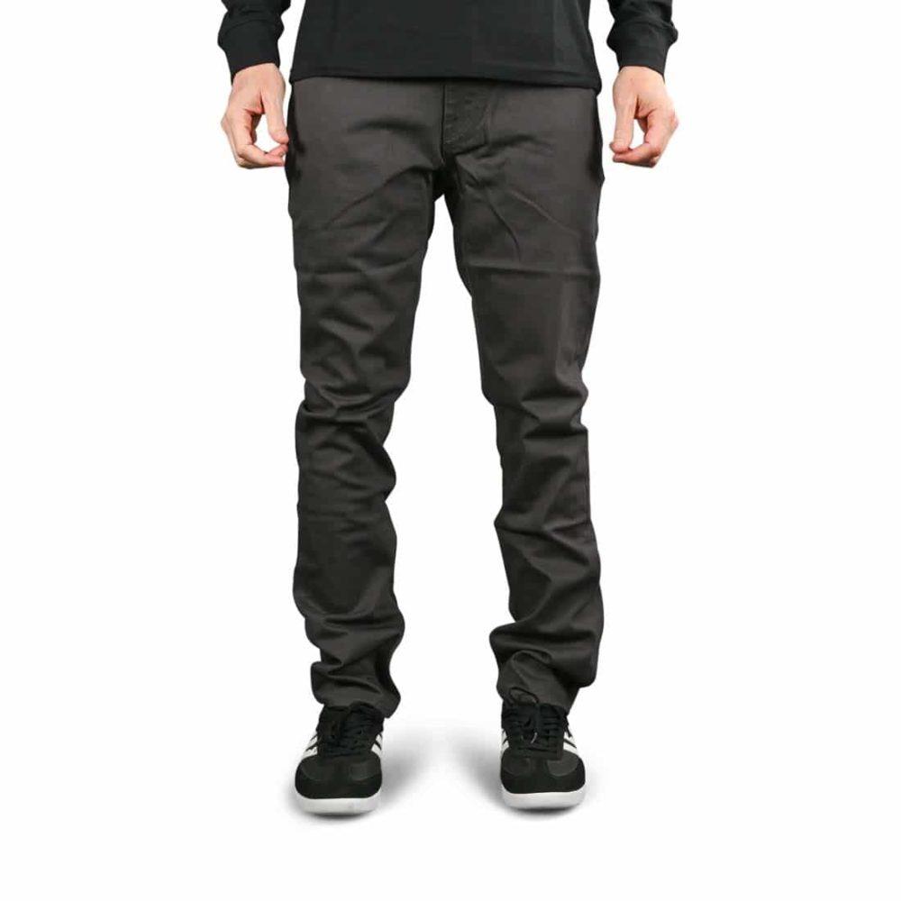 Volcom Vorta 5 Pocket Slub Denim Jeans - Asphalt Black