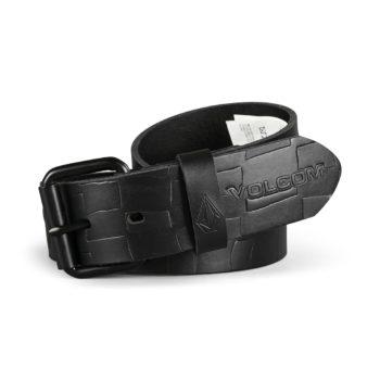 Volcom Stone MB Leather Belt - Black