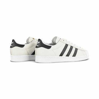 Adidas Superstar ADV Skate Shoes - White / Core Black / Gold Metallic