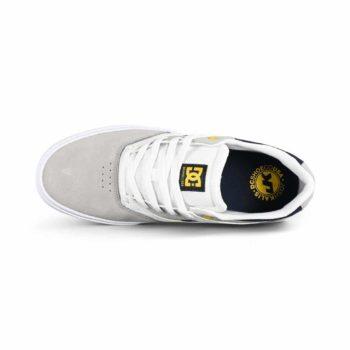 DC Shoes Kalis Vulc S - White / Grey / Grey