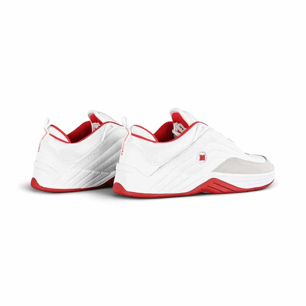 DC Shoes Williams Slim - White / Grey / Red