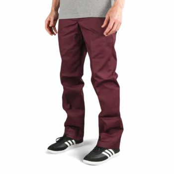 Dickies 873 Slim Straight Work Pant - Maroon