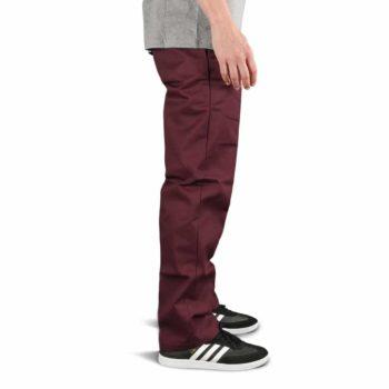 Dickies 873 Slim Straight Work Pant - Maroon
