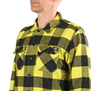 Dickies Sacramento L/S Shirt - Sulphur