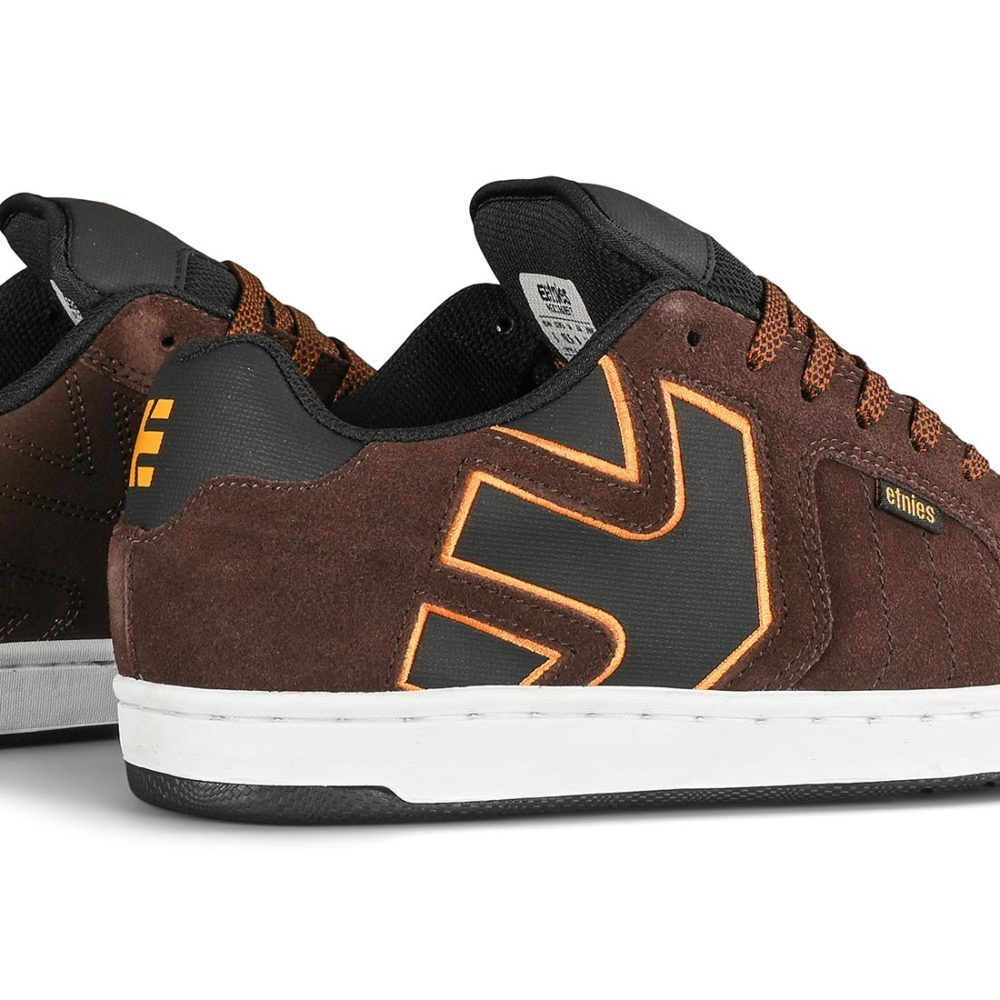 Etnies Fader 2 Skate Shoes - Brown / Black