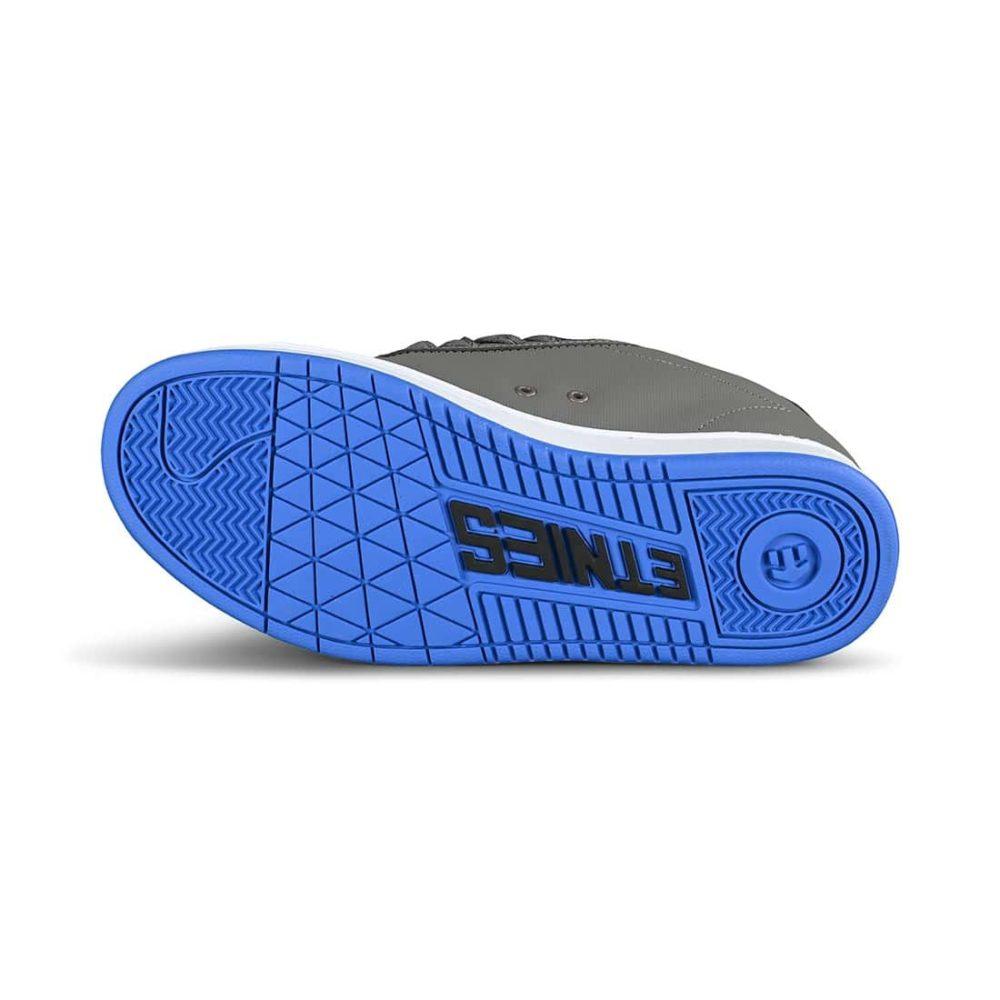 Etnies Fader Skate Shoes - Grey / Royal / White