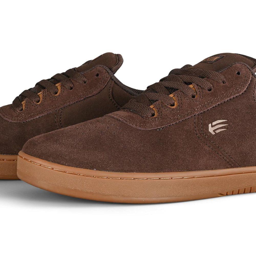 Etnies Joslin Skate Shoes - Brown / Gum / Brown