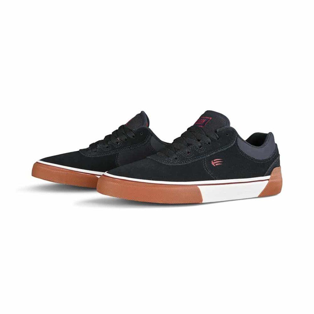 Etnies Joslin Vulc Skate Shoes - Navy / Gum / White