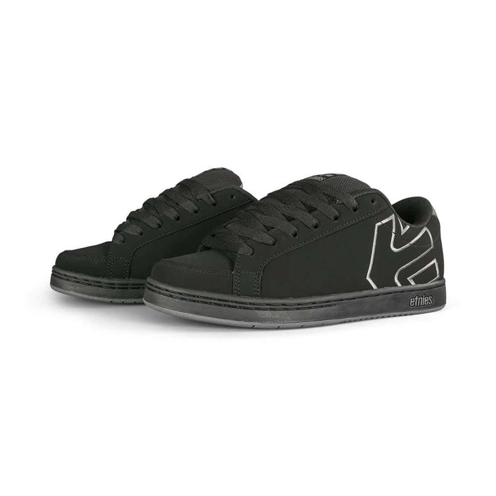 Etnies Kingpin 2 Skate Shoes - Black / Grey / Black