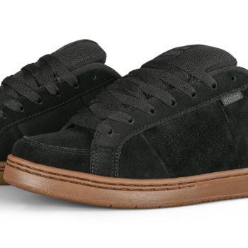 Etnies Kingpin Skate Shoes - Black / Dark Grey / Gum