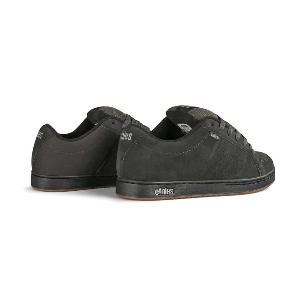Etnies Kingpin Skate Shoes - Dark Grey / Black