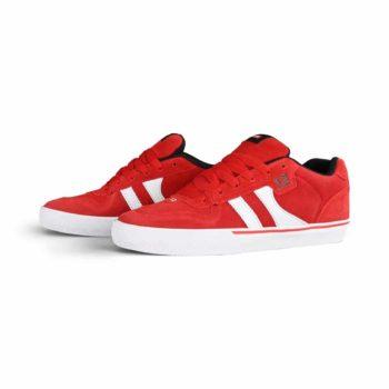 Globe Encore 2 Skate Shoes - Red / White / Black