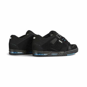 Globe Sabre Skate Shoes - Black / Blue