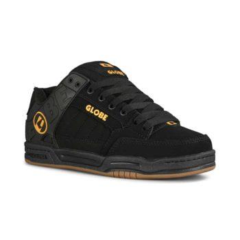 Globe Tilt Skate Shoes - Black / Caramello