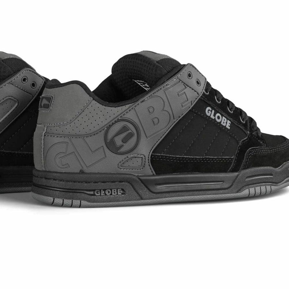 Globe Tilt Skate Shoes - Iron / Black / Split