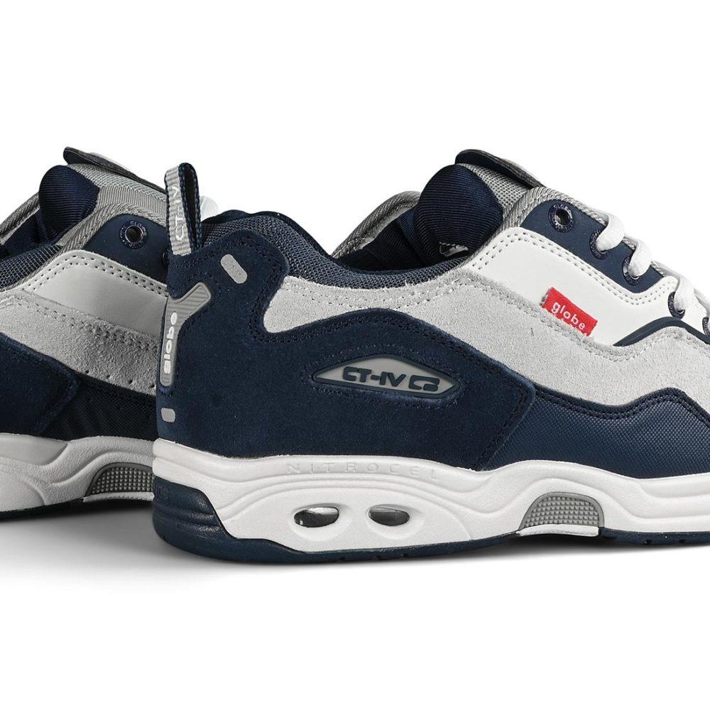 Globe CT-IV Classic Shoes - White / Blue