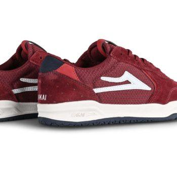 Lakai Atlantic Skate Shoes - Burgundy Suede