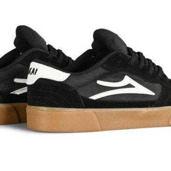 Lakai Cambridge Skate Shoes - Black / Gum Suede
