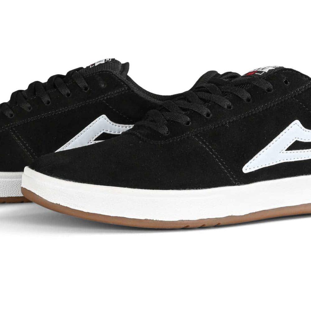 Lakai Manchester XLK Skate Shoes - Black Suede