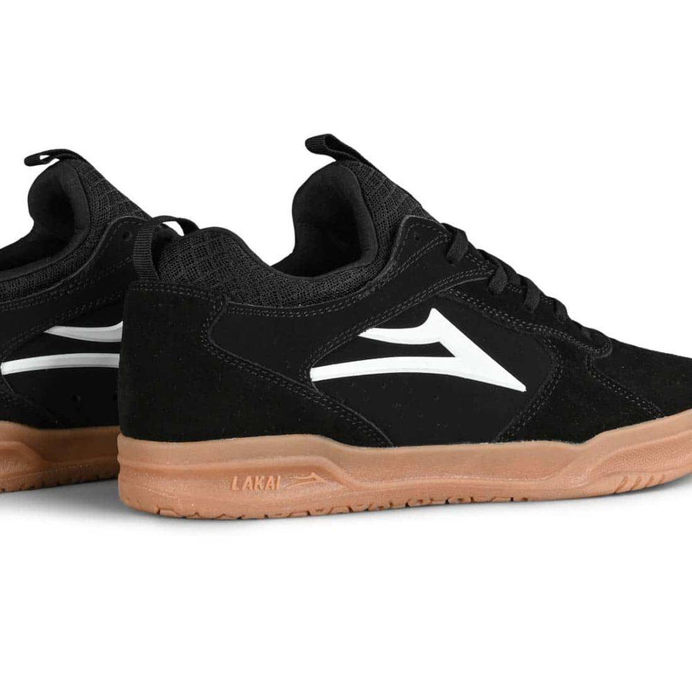Lakai Proto Skate Shoes - Black Gum Suede
