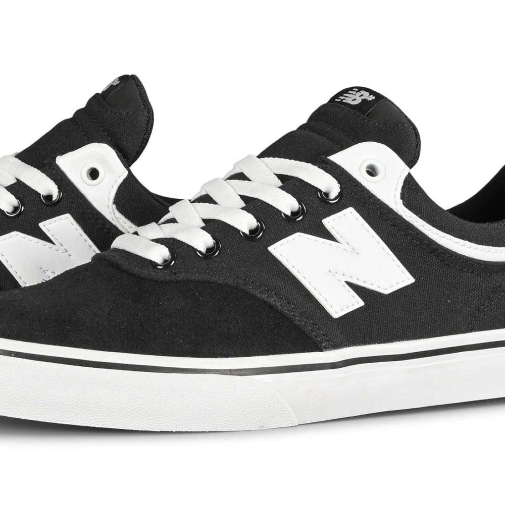 New Balance Numeric 255 Skate Shoes - Black / White