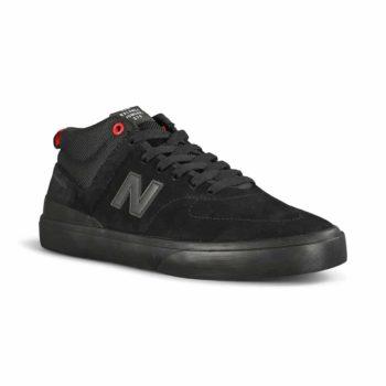 New Balance Numeric x Challenger 379 Mid Skate Shoes - Black / Black
