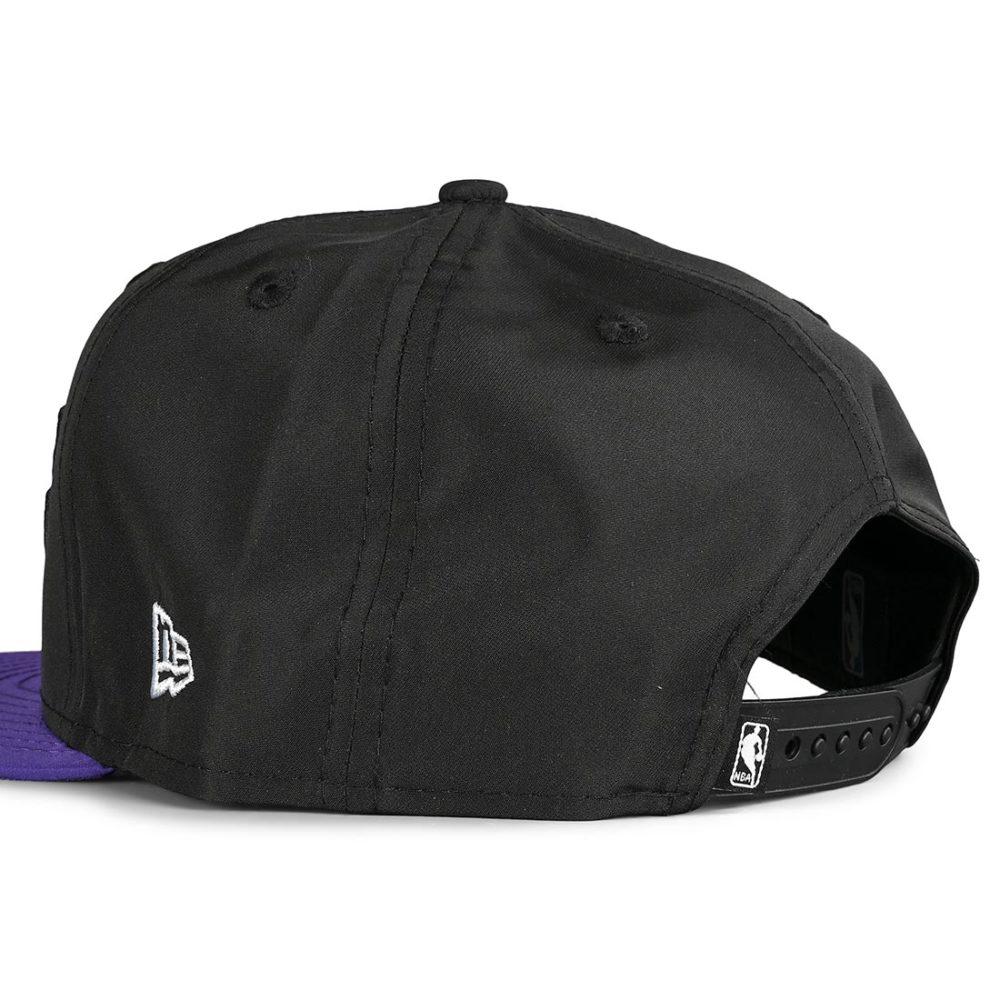 New Era Los Angeles Lakers Team 9Fifty Snapback Cap - Black