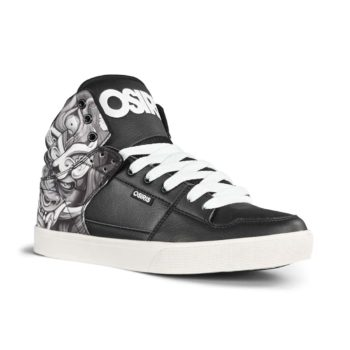 Osiris Echo High Top Shoes - Huit / Mask / Black
